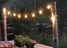 light pole home depot how to create unique string light poles for your garden garden club