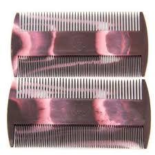Sisir Kutu 2 pcs lot kualitas baik gigi resin grate nit kutu sisir kutu kutu