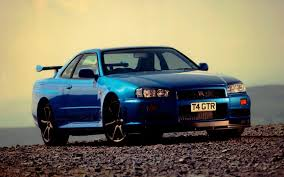 kereta bmw biru nissan skyline gtr r34 wallpapers wallpaper cave