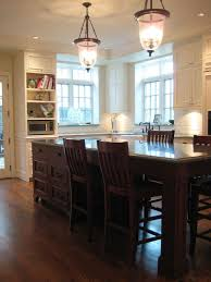 Kitchen Island Table Ideas 30 Kitchen Islands With Seating And Dining Areas Digsdigs In Long