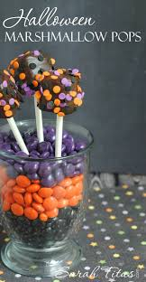 Halloween Themed Cake Pops by Halloween Marshmallow Pops Sarah Titus