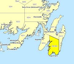 map of southeast canada archived forecast region avalon peninsula southeast canada ca