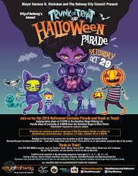 rahway trunk or treat u0026 halloween parade u2013 renna media