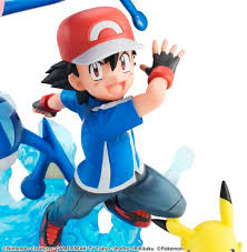 limited edition ash greninja and pikachu figure coming to japan