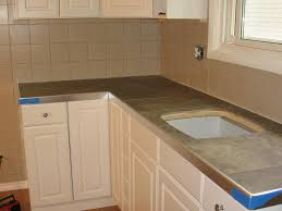 kitchen countertop tile design ideas slate tile kitchen home design and pictures