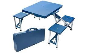 Camping Picnic Table Folding Picnic Table Sets Homefurniture Org