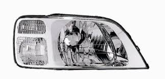 honda crv headlight replacement honda crv 1997 2001 right passenger side replacement headlight