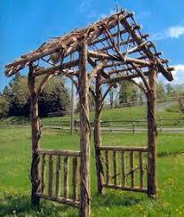 wedding arch log log arbor plans search wedding ceremony ideas