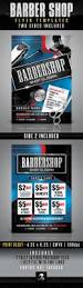 barbershop flyer templates graphicriver use this photoshop
