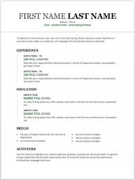 word resume templates 11 free resume templates you can customize in microsoft word