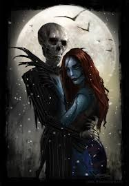 jack and sally by tarrzan on deviantart on we heart it