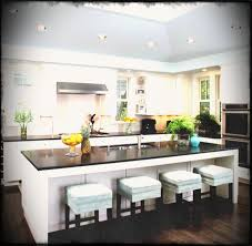 kitchen island length modern kitchen island with seating white wooden laminated flooring