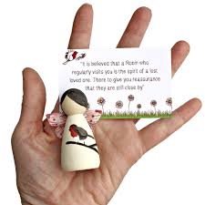 bereavement gifts robin bereavement gifts fairy peg doll lotty lollipop