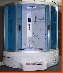 Tubs Showers Tubs U0026 Whirlpools Big Steam Shower Room W Whirlpool Tub Jacuzzi Bluetooth Audio