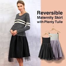 maternity skirt fluffy 2 way taffeta and tulle maternity skirt sweet