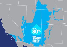 nasa measures u0027dust on snow u0027 to help manage colorado river basin