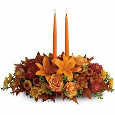 family gathering centerpiece send thanksgiving flowers