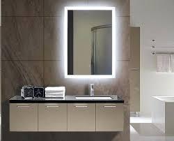 Lit Bathroom Mirror Backlit Mirror Bathroom Juracka Info