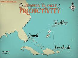 Bermuda World Map Trapped In The Bermuda Triangle Of Productivity
