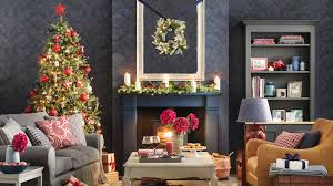 fireplace christmas decorations ideal home