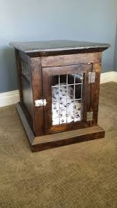 Dog Crate Furniture Bench Dog Kennel End Table 13 Steps With Pictures