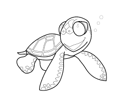 free printable turtle coloring pages for kids for cartoon