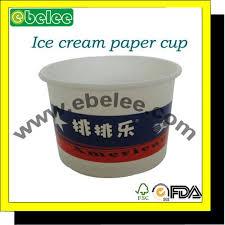 bicchieri di carta personalizzati stati personalizzati di carta riciclata 8 once gelato bicchieri