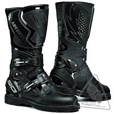 men s motorcycle boots sidi adventure rain men s water resistant motorcycle boot