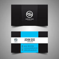 E Business Cards Free Modern Corporate Business Card Vector Free Download