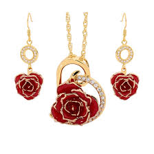 Rose Dipped In Gold Gifts For Her Eternity Rose Has A Range For All Occasions
