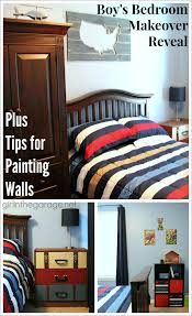 boy u0027s bedroom makeover reveal tips for painting walls in
