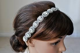 beaded headband wedding hair accessory beaded headband bridal headband