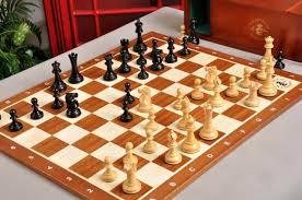 the gothic edition reykjavik ii series chess set and board