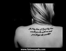 2 word tattoos quotes