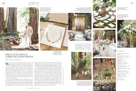 what it u0027s like to get your wedding covered by a magazine racked la