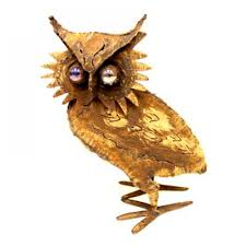 sculpture home decor small iron owl sculpture home décor office decor home office