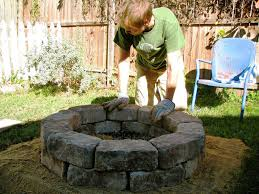 how to build a simple fire pit brick home fireplaces firepits