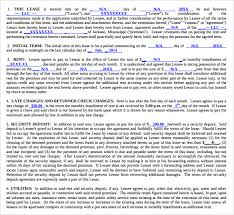 free rental lease agreement download apartment lease agreement templates 9 free samples examples