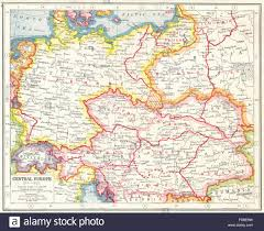 Map Central Europe by Central Europe 1914 1920 Border Changes Due To First World War 1