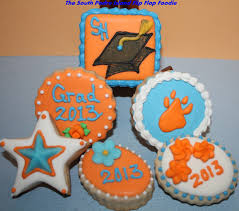 the south padre island flip flop foodie graduation cookies take two