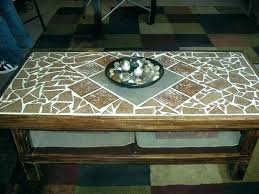 tile table top makeover tile table top tile table top tile top makeover wood herringbone