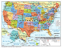 map of us states and capitals map of us showing state boundaries map maps of