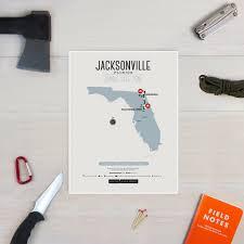 Jacksonville Map Zombie Safe Zone Jacksonville Map Design Different