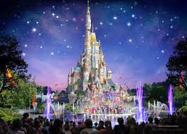 hong kong disneyland will rebuild its castle in a 1 4 billion