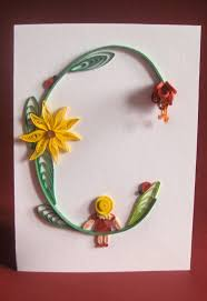 129 best quilled letters u0026 numbers images on pinterest quilling