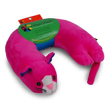 pink kid car buy critter piller kid u0027s neck pillow brown dog online at low