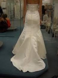 trumpet wedding dresses david s bridal ivory strapless trumpet wedding dress wg9871 ebay