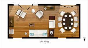 frierson living room dining room rendered floor plan layout full
