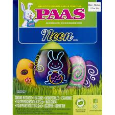 easter egg dye kits paas neon egg dye kit from safeway instacart
