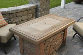 Fire Pit Logs by Sierra Fire Pit Table With Rectangular Burner